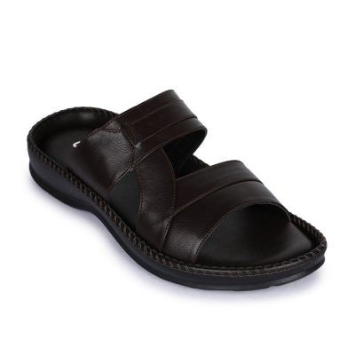 Coolers Men's Brown Casual Slippers (K2-01) No