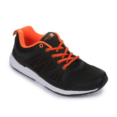 Force 10 Women's Black Sports Lacing (LB2-A1) Force 10