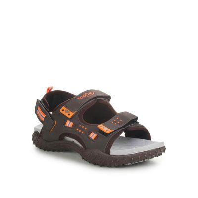 Lucy & Luke Kids Orange Casual Sandal (LEVIN) No