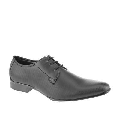 Fortune Men's Black Formal Lacing (LL-2003) Fortune