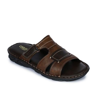 Coolers Men's Brown Casual Slippers (LPC-2) Coolers