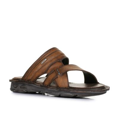 Coolers Men's Brown Casual Slippers (LPC-4) No