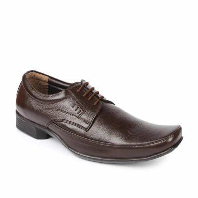 Fortune Men's Brown Formal Lacing (LSR-303) Fortune