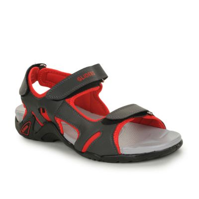 Coolers Men's Red Sporty Casual Sandal (MARCO-1) Coolers