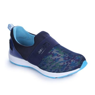 Force 10 Women's Blue Sports Non Lacing (MARTIE-5N) No