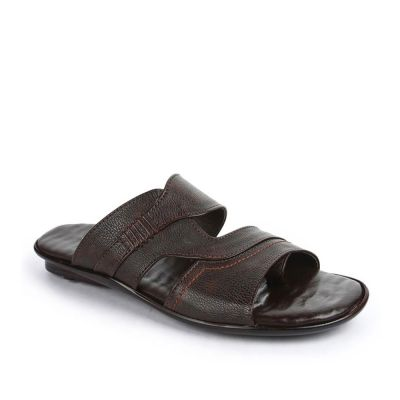 Coolers Men's Brown Formal Slippers (ORTIZ-21) No