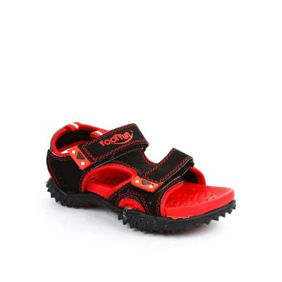 Lucy & Luke Kids Black Casual Sandal (POLO) No
