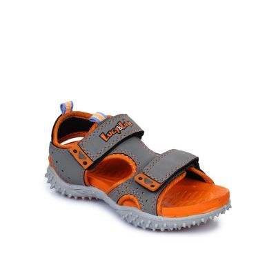 Lucy & Luke Kids Grey Casual Sandal (POLO) No