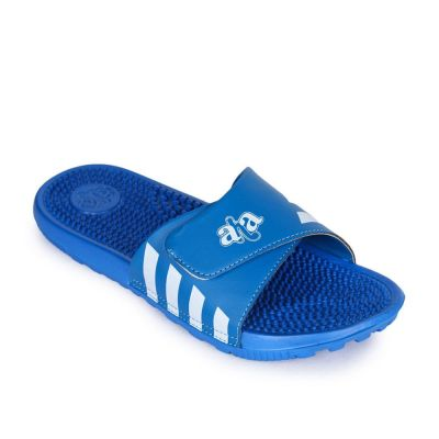 A-Ha Men's Blue Bin Slippers (ROLLES) No