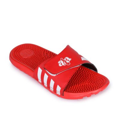 A-Ha Men's Red Bin Slippers (ROLLES) No
