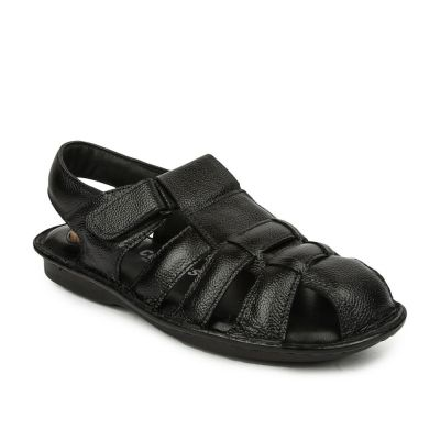 Coolers Men's Black Casual Sandal (S1-0506) Coolers