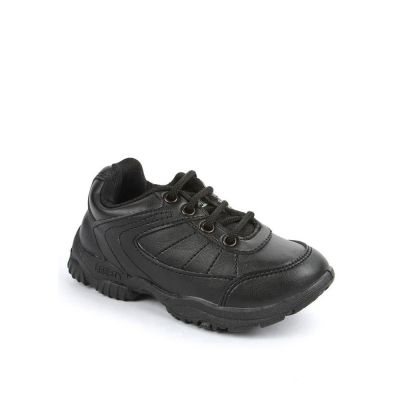 Prefect Kids Black School Lacing (SCHZONE) No