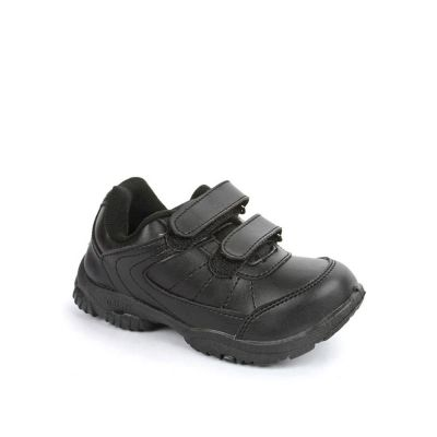 Force 10 Kids Black School Non Lacing (SCHZONE-DV) Force 10