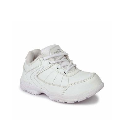 Prefect Kids White School Lacing (SCHZONE) No