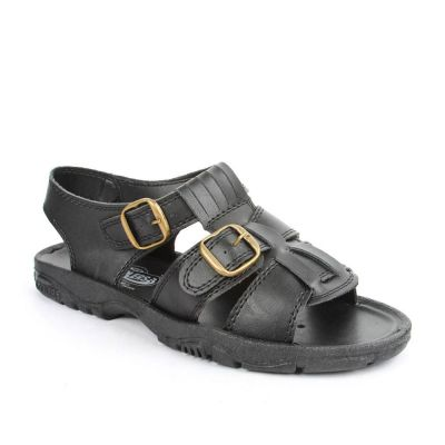 Coolers Men's Black Casual Sandal (SEMSON-N) No