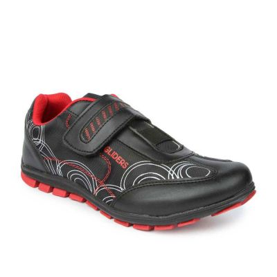 Gliders Women's Red Sporty Casual Non Lacing (SENNA) Gliders