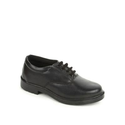 Prefect Kids Black School Lacing (SKOOLBOYPU) No