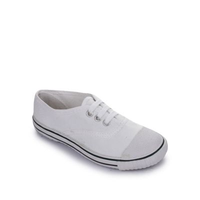Prefect Kids White School Lacing (SKOOLTENIS) Prefect
