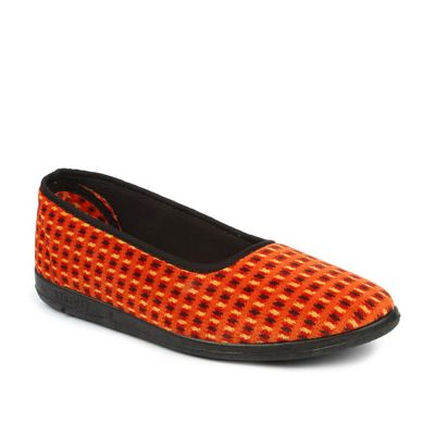 Gliders Women's Orange Casual Ballerina (SPLBELLY-5) Gliders