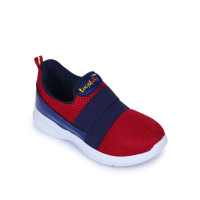 Lucy & Luke Kids Red Casual Non Lacing (TEDDY-09) Lucy & Luke