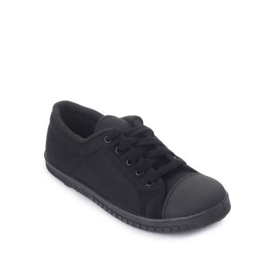 Prefect Kids Black School Lacing (TENIS) No