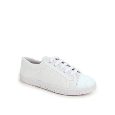 Prefect Kids White School Lacing (TENIS) No