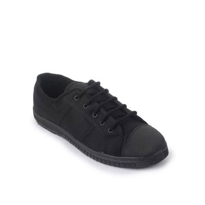Gliders Kids Black School Lacing (TENNIS-E) No