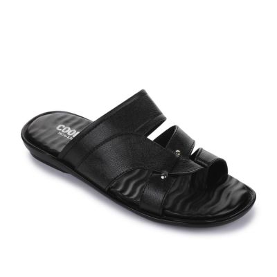 Coolers Men's Black Formal Slippers (TRL-113) No