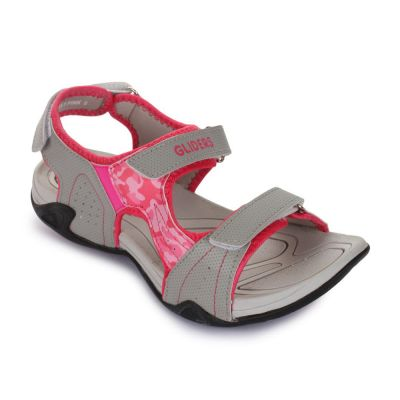 Gliders Women's Pink Sporty Casual Sandal (VANISA-1) No