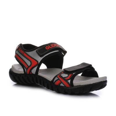 Gliders Men's Red Casual Sandal (WADE-4) Gliders