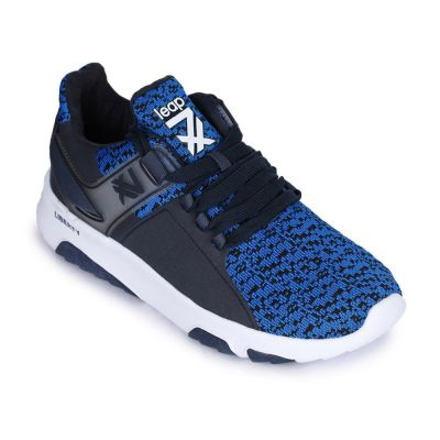 Leap7X Men's Blue Sports Lacing (XL-XQL19) No