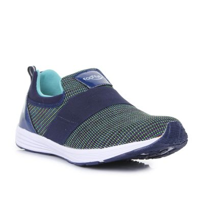 Lucy & Luke Kids Green Sports Non Lacing (HARPER-4) No