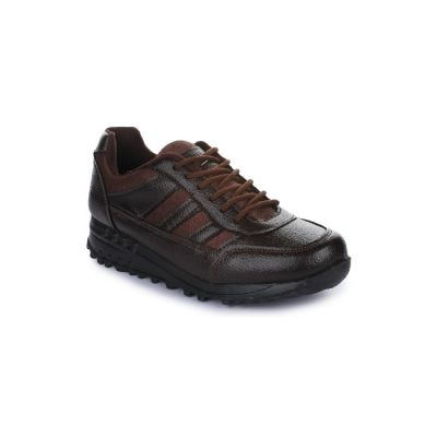 Force 10 Kids Brown School Lacing (ELECTRA) No
