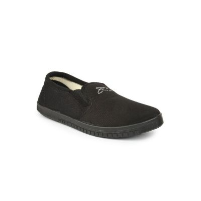 Gliders Men's Black Casual Non Lacing (JOGGING-E) No