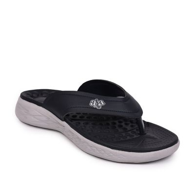 A-HA By Liberty Royal Blue Flip Flop Slippers For Mens (IMPACT-21 ) A-HA