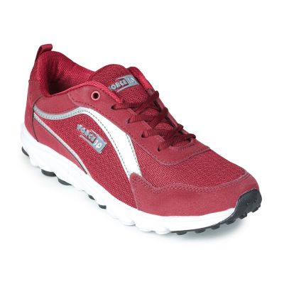 Force 10 By Liberty Womens Sports Running Shoes - Maroon (JARVIS-2) Force 10