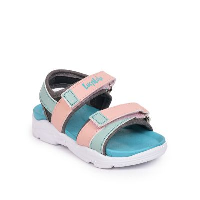 Lucy & Luke By Liberty Pink Casual Sandals For Kids (JATSON-1E ) Lucy & Luke
