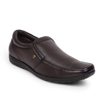 Healers By Liberty Brown Slip On Formal Shoes For Mens (JPL-42) Fortune