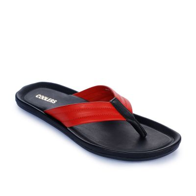 Coolers Men's Red Casual Thong (K2-155) No