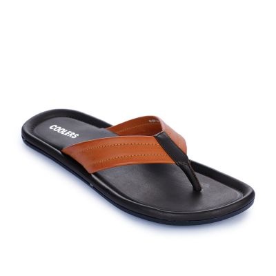Coolers By Liberty Mens Casual Tan Slippers Coolers