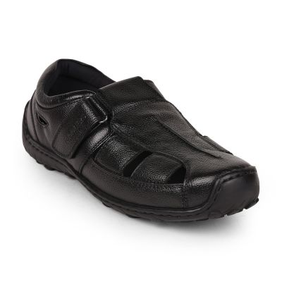 Coolers By Liberty Mens Formal Black Sandal Coolers