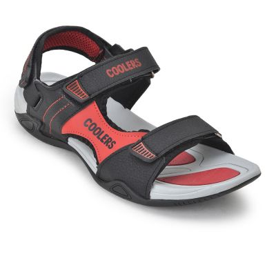 Coolers Men's Red Sporty Casual Sandal (LXI-11) Coolers