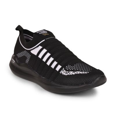 Force 10 By Liberty Mens Sports Black Non Lacing Walking Shoes Force 10