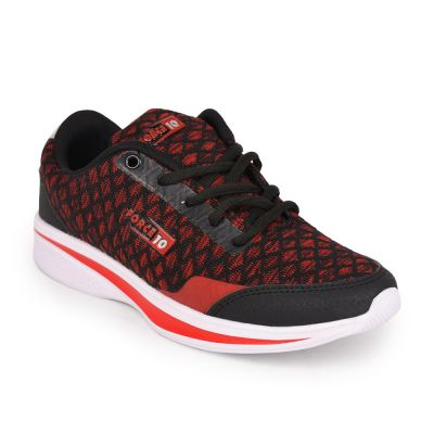 Force 10 Womens Red Sports Running Shoes(NIARA-1) Force 10