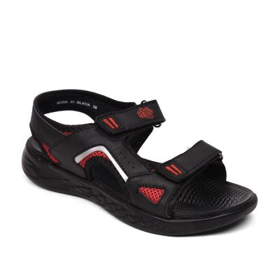 A-HA By Liberty Black Casual Sandals For Womens (NORA-1) A-HA