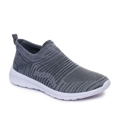 Force 10 Men's Grey Sports Non Lacing Force 10