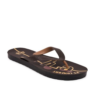 A-HA By Liberty Brown Slippers For Mens (PUCOMFRTM3) A-HA
