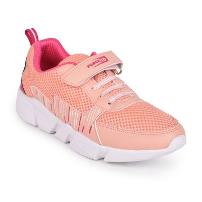Force 10 Womens Peach Sports Non Lacing Walking Shoes (RILEY ) Force 10