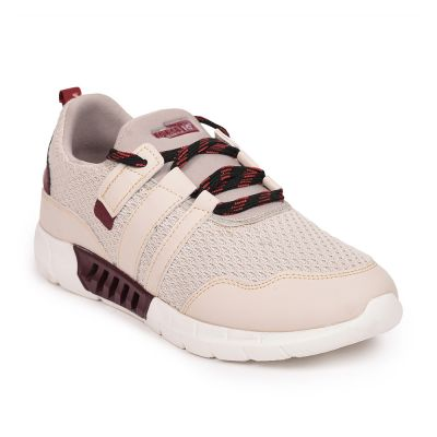 Force 10 By Liberty Cream Casual Sports Shoes For Womens (SAMOA-1E) Force 10