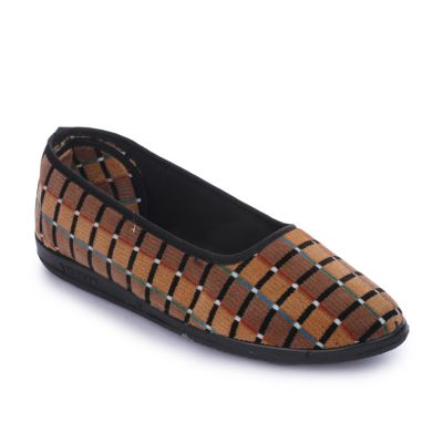 Gliders By Liberty Brown Casual Womens Ballerina (SPL.BELLY) Gliders